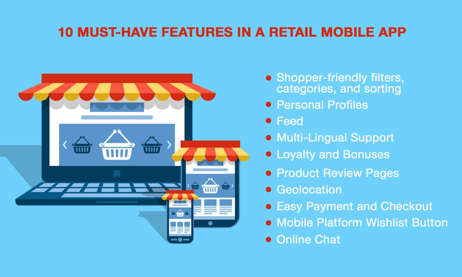 10 Must-Have Features in a Retail Mobile App